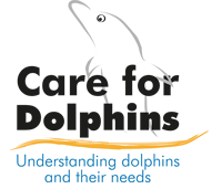 Logo Care for Dolphins - Understanding dolphins and their needs