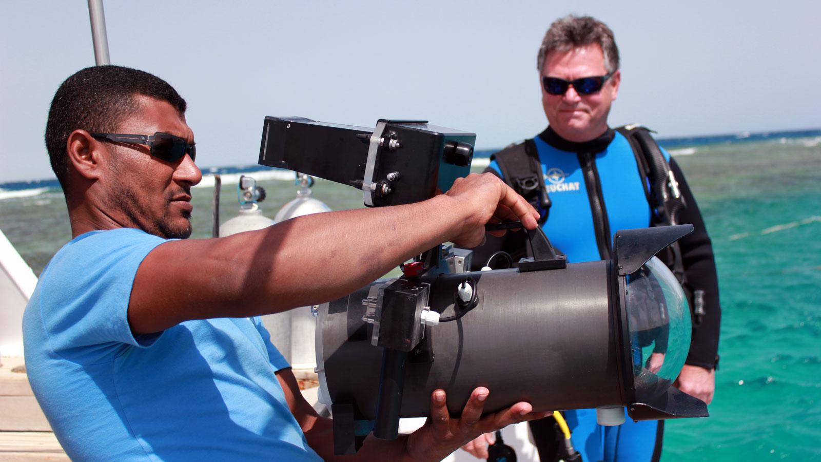 Filmaufnahmen für Terra X