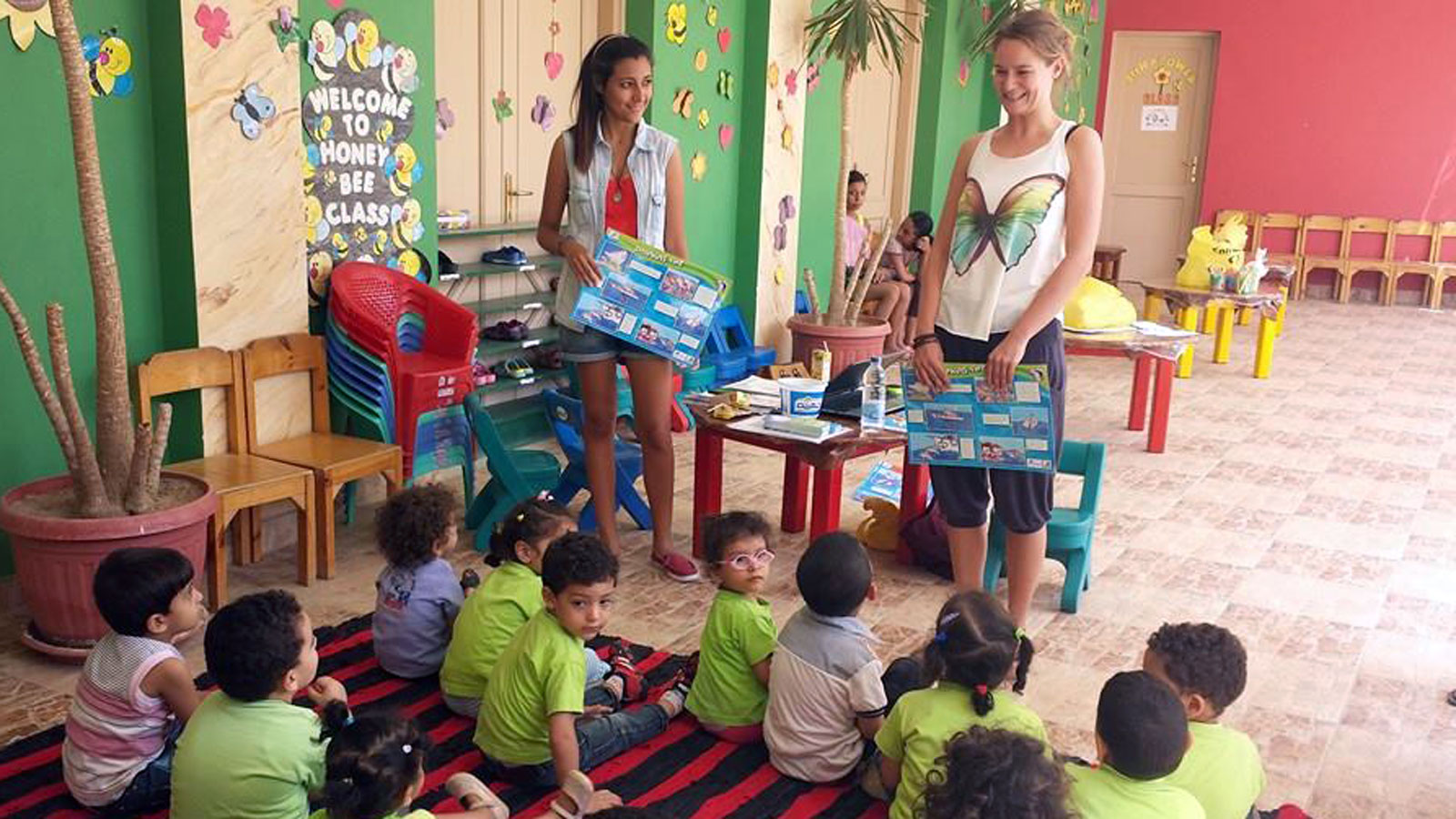 Vortrag im Kindergarten Honey Bee in El Gouna