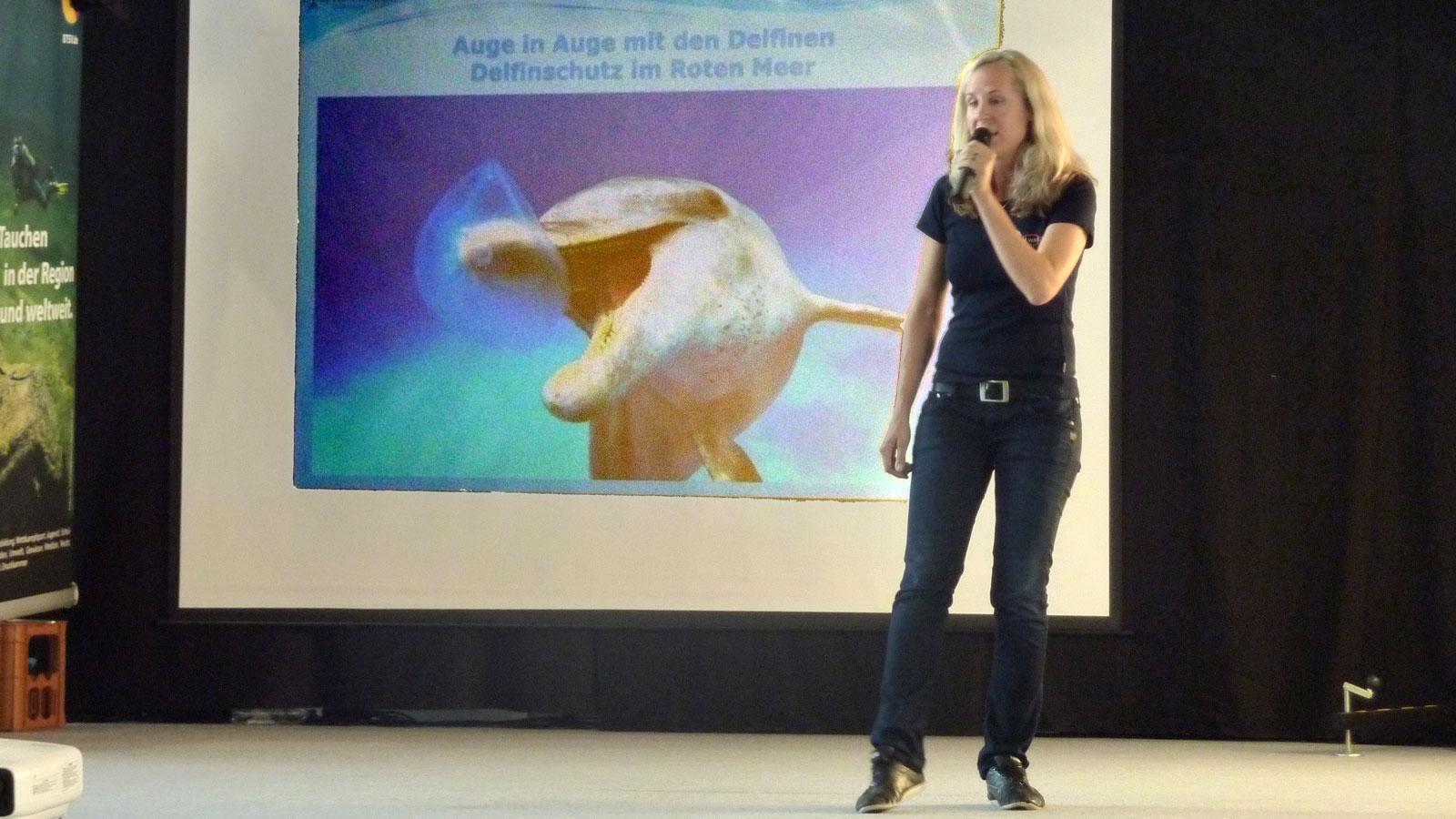 Vortrag Delfinschutz im Roten Meer