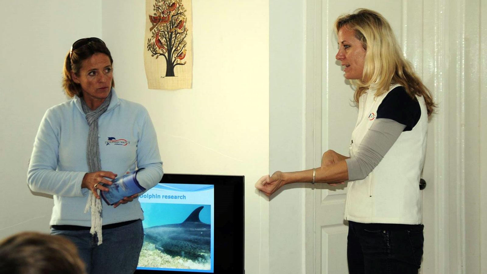 Sandy Weder El Sammra und Angela Ziltener