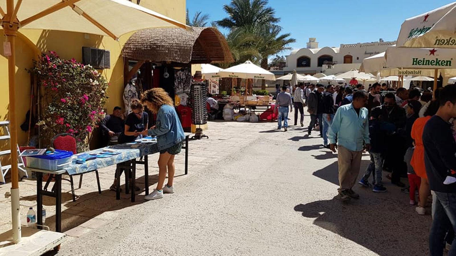 Earth Week market in El Gouna