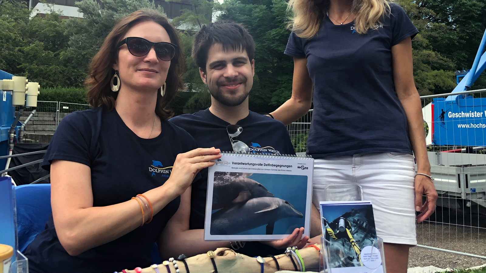 Clarification about dolphin encounters at Züri Fäscht