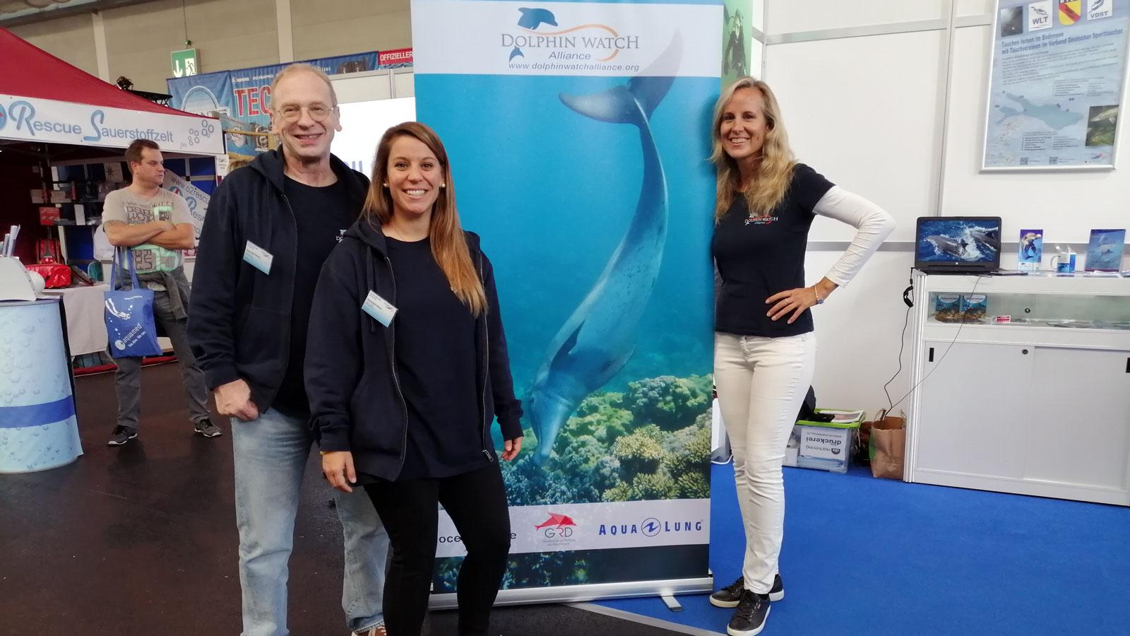 Dolphin Watch Alliance at the Interdive in Friedrichshafen